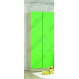Шкаф детский Беби-2 зеленый