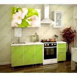 """Кухня """"Яблоневый цвет"""" 1,5 м"""