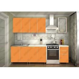 Кухня Радуга-оранж 2,0 м