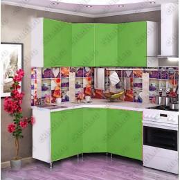 Кухня 1,45м х 1,45м (Зеленая)